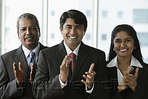 PictureIndia - Indian people clapping and smiling